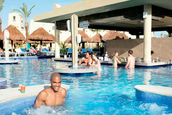 Hotel Riu Santa Fe - Pool bar