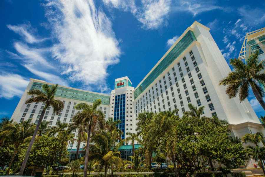 Renovation of the Riu Cancun