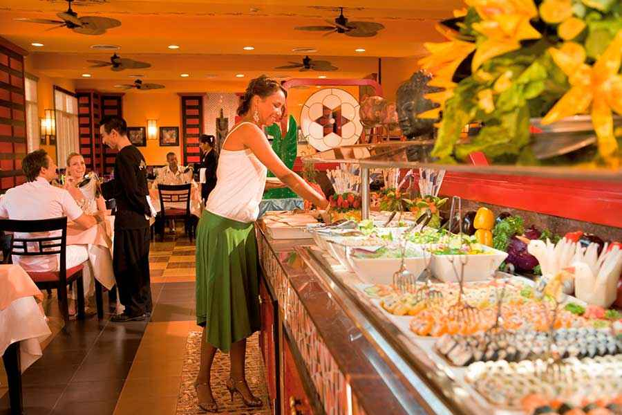 Paradise Restaurant Buffet Menu