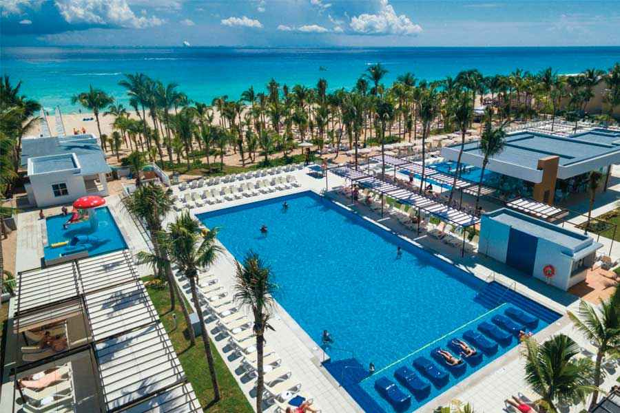 Hotel Riu Playacar - Outdoor pool