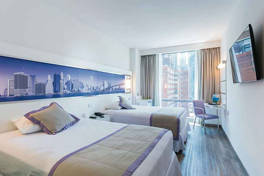Hotel suites in new york times square