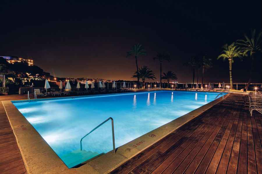 Hotel Riu Palace Bonanza Playa - Outdoor pool