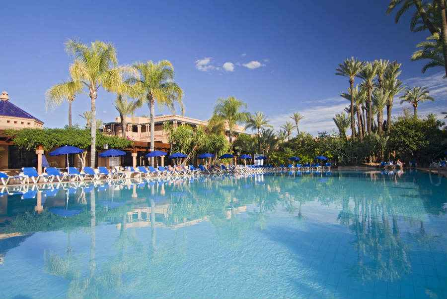 Hotel Riu Tikida Garden - Outdoor pool