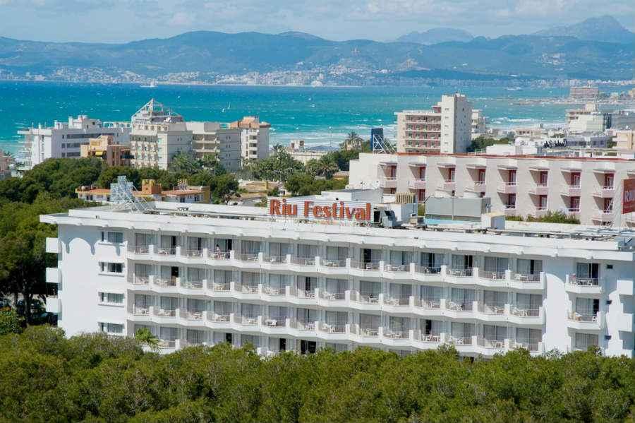 Hotel Riu Festival Hotel Playa De Palma Majorca