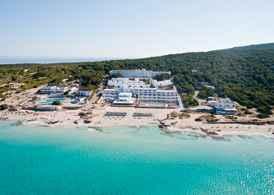 Vacaciones a formentera playa migjorn vacaciones a for Alojamiento formentera