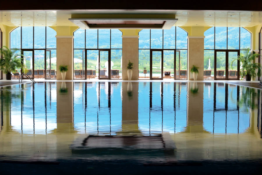 Hotel Riu Pravets Resort - Piscine interieure