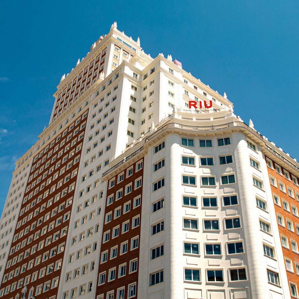 Terraza Hotel Riu Plaza España El Mejor Sky Bar De Madrid