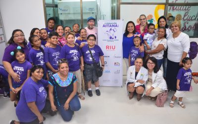 RIU will continue to pay for all the drugs needed at the Children Ambulatory Chemotherapy area in Cancun's General Hospital