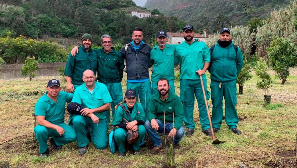 Proyecto sostenible de RIU: Plantamos conciencias