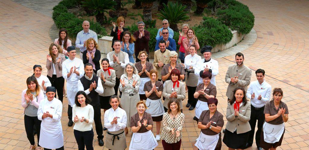 Equipo de RIU Hotels: empleados con conciencia sostenible