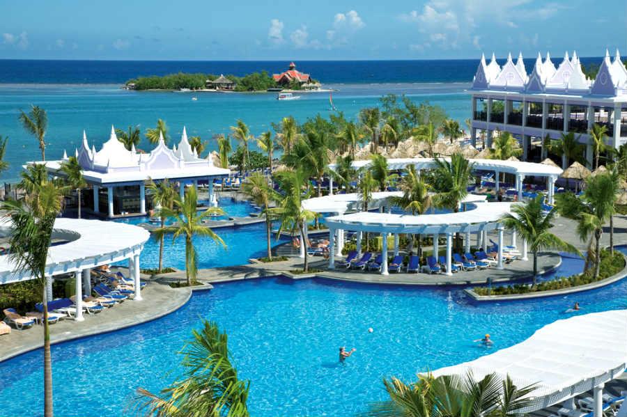 One of the incredible Riu Resorts in Jamaica